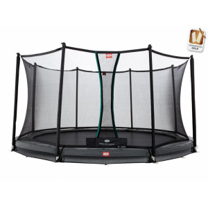 Trampolino Tappeto Elastico Berg InGround Champion Safety Net Comfort Varie Misure