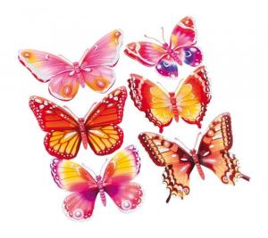 Adesivi decorazioni Farfalle arredo cameretta e mobili casa bambine