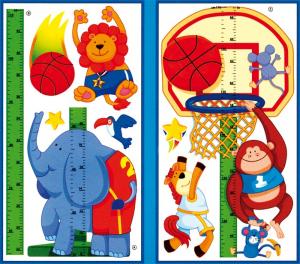 Misuratore/Metro della crescita/altezza per bambini con adesivi
