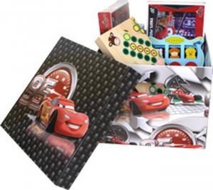 Scatola-box-custodia Cars Disney per bambino Set da 2