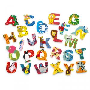 Lettere decorative colorate in legno nomi bambini dalla A alla Z