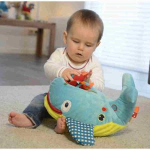 Peluche Balena Gioca ed impara Dolce Toys