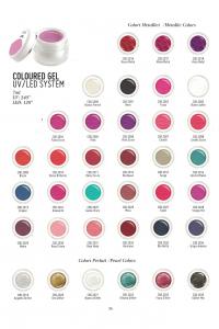 Jvone Milano - Coloured Gel - Disponibile in 35 Colorazioni