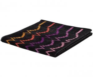 Missoni Home Set Asciugamani | asciugamano + ospite VERA 160 grigio nero