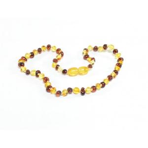 Collana Ambra dentizione Bambini Multicolore 30 cm
