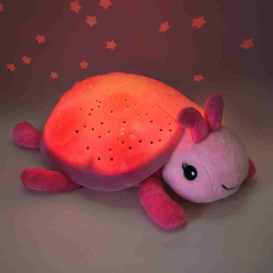 Luce notturna Proiettore Stelle Twilight Coccinella CloudB Rosa