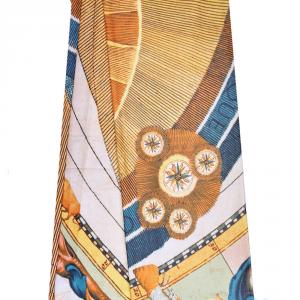 Granfoulard telo arredo copritutto GATTINONI Planetarium multicolore 270x290 cm