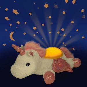 Peluche Proiettore di Stelle Luce Notturna Twilight Buddies Cloud B Unicorno