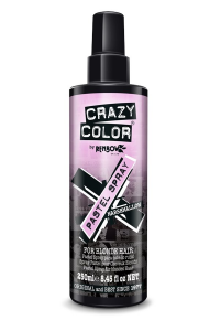 Crazy Color Pastel Spray - Spray colorante temporaneo per capelli 5 tonalità pastello - 250 ML