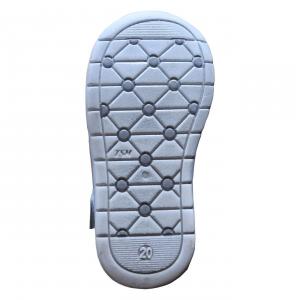 Scarpe primi passi Cenere-Bianco Gioiecologiche Made in Italy