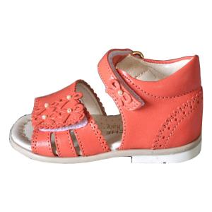 Scarpe primi passi Sandaletto Corallo Gioiecologiche Made in Italy