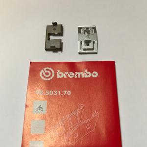 Kit molle antivibrazione Brembo per pinza freno 20468330