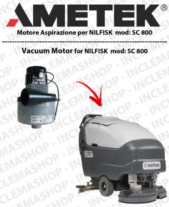 SC 800 MOTORE LAMB AMETEK di aspirazione per lavapavimenti NILFISK