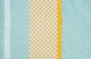 Telo mare in spugna 100x180 cm KAAT Amsterdam Sunny Lime giallo