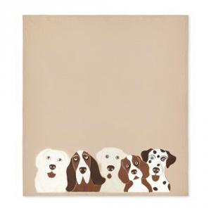 Plaid in pile 160x180 cm MaryPlaid Dogs idea regalo originale
