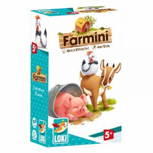 Farmini Gioco da tavolo Edizione Italiana MANCALAMARO