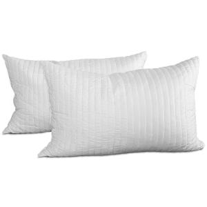 Occasione! Coppia Cuscini Fiocco Memory, ottimo per dolori cervicali, tessuto traspirante - Guanciale modello saponetta, cuscino per il collo, adatto a tutti i materassi e letti