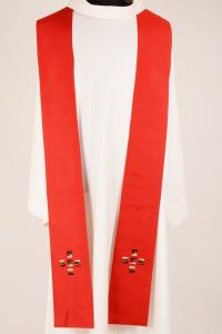 Stola S44 M1 Rossa - Pura Seta