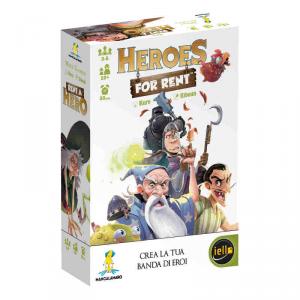 Hero For Rent Gioco da tavolo Edizione Italiana MANCALAMARO