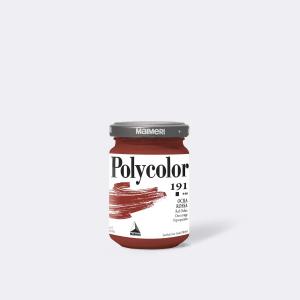 Colore MAIMERI POLYCOLOR 140ML OCRA ROSSA per dipingere