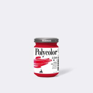 Colore MAIMERI POLYCOLOR 140ML ROSSO BRILLANTE per dipingere