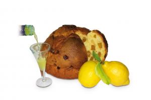 PANCIÜC LIMONE imbibito con liquore al limone