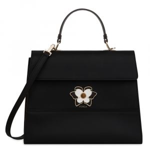 Hand and shoulder bag Furla MUGHETTO 961628 ONYX