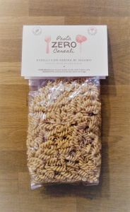 Fusilli ZeroCereali with Sesame Flour. No Gluten - No Legumes - No Dairy Products