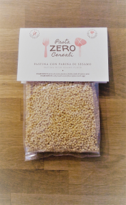 ZeroCereali pasta with Sesame flour. No Gluten - No Legumes - No Dairy Products