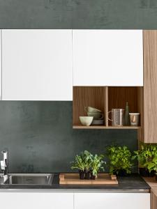 Cucina moderna componibile con gola