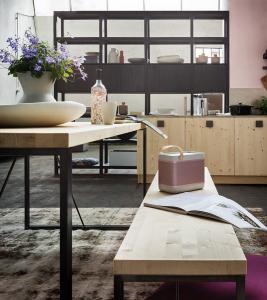 Cucina in legno stile Industry