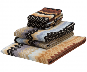 Missoni Full Bathroom 5 piece towel set - GIACOMO 160