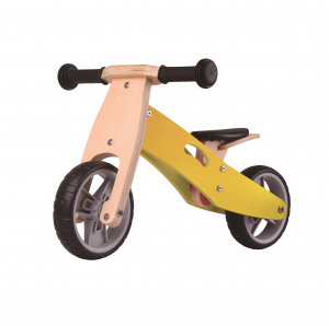 Udeas Bici senza pedali cavalcabile 2 in 1 Varoom Minibike Giallo