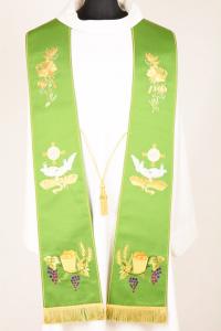 Stola S5 M0 Verde - Faille Misto Lana