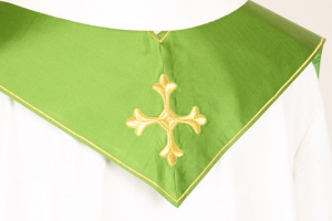 Stola S10 M0 Verde - Faille Misto Lana