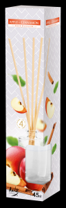 Diffusori di fragranze per ambiente con bastoncini di bamboo nelle profumazioni Arancia-Vaniglia-Fragola-Rosa-Lavanda-Mela e Cannella