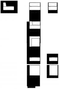 Divano modulare componibile trapuntato People
