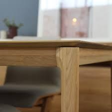 Tavolo da pranzo in rovere fisso e allungabile Bok