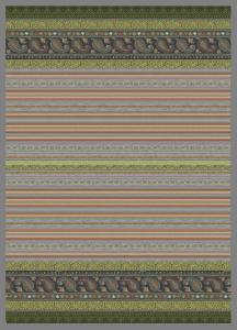 Bassetti Granfoulard MAXI Plaid CERVINO v6 270x250 grigio