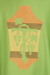 Casula Concelebrazione CE69CT Verde - Pura Lana