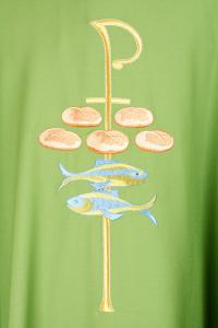 Casula Concelebrazione CE19BT Verde - Pura Lana