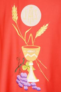 Casula Concelebrazione CE20BT Rossa - Pura Lana