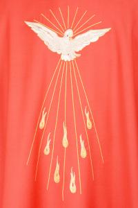 Casula Concelebrazione CE6BT Rossa - Pura Lana