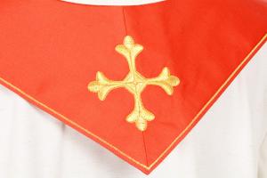 Stola S20 M0 Rossa - Faille Misto Lana