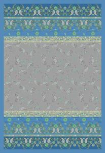 Bassetti Granfoulard MAXI Plaid RAFFAELLO var.7 270x250 grigio-blu