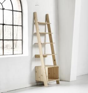 Vocal libreria in legno