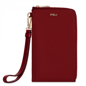 Mobile holder Furla BABYLON 978612 CILIEGIA d