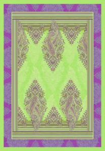 Bassetti Plaid Granfoulard 135x190 cm ELBA v.2 verde regalo originale