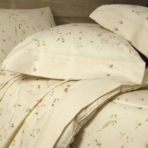Set lenzuola matrimoniale 2 piazze Gabel in caldo cotone STELLA naturale