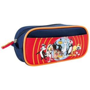Astuccio portapenne colori scuola asilo Looney tunes Warner Bros